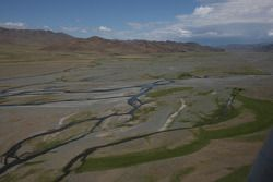 Scenery between Bayankhor and Mongol Els