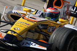 Romain Grosjean, piloto de test de Renault F1 Team