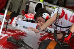 Kamui Kobayashi, Test Pilotu, Toyota F1 Team