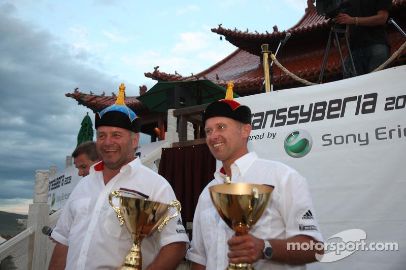 Podium: third place Armin Schwarz and Andreas Schulz