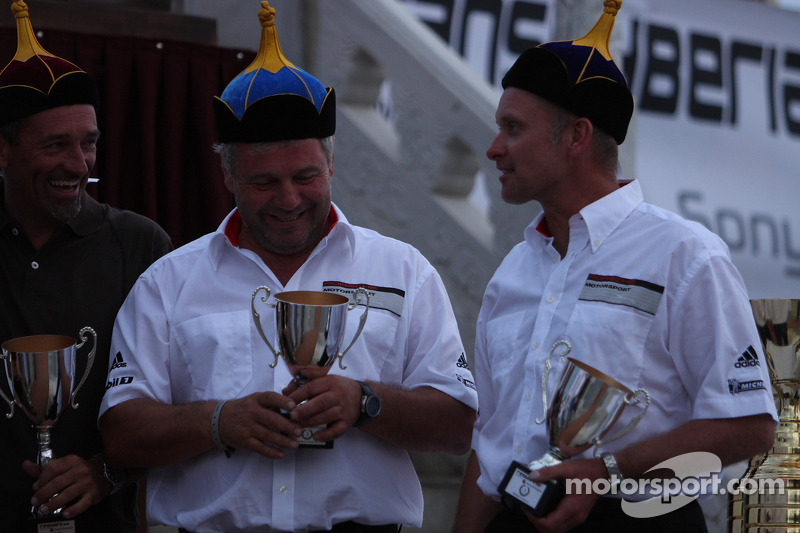 Podium: third place Armin Schwarz and Andreas Schulz