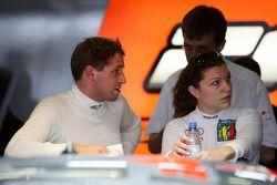 Christijan Albers, TME, Audi A4 DTM and Katherine Legge, TME, Audi A4 DTM