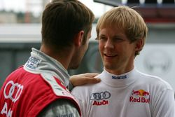 Mattias Ekström, Audi Sport Team Abt Sportsline and Martin Tomczyk, Audi Sport Team Abt Sportsline