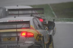 Dammage on the car of Oliver Jarvis, Audi Sport Team Phoenix, Audi A4 DTM