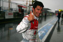 Отличный квалификационный результат Майка Роккенфеллера, Audi Sport Team Rosberg