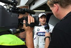 Andy Priaulx, BMW Team UK, BMW 320si WTCC sulla BMW Sauber F1
