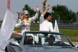 Susie Stoddart, Persson Motorsport AMG Mercedes and Bruno Spengler, Team HWA AMG Mercedes