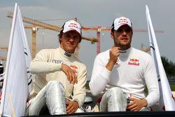 Mattias Ekström, Audi Sport Team Abt Sportsline Audi A4 DTM et Martin Tomczyk, Audi Sport Team Abt S