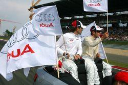 Mike Rockenfeller, Audi Sport Team Rosberg, Audi A4 DTM and Markus Winkelhock, Audi Sport Team Rosberg, Audi A4 DTM