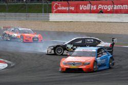 Markus Winkelhock, Audi Sport Team Rosberg, Audi A4 DTM having a rather unorthodox way of approachin