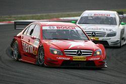 Gary Paffett, Persson Motorsport AMG Mercedes, AMG-Mercedes C-Klasse, leads Jamie Green, Team HWA AM