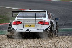 Tom Kristensen, Audi Sport Team Abt, Audi A4 DTM spun off at the first corner The rear part of the car ran into the gravel and he needed outside help to continue