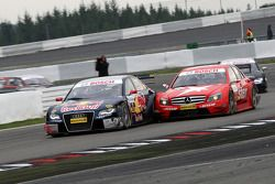 Mattias Ekström, Audi Sport Team Abt Sportsline, Audi A4 DTM and Gary Paffett, Persson Motorsport A