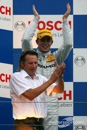Podium: second place Paul di Resta and Hans-Jürgen Mattheis