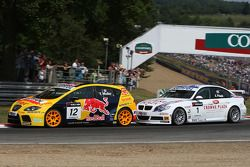 Yvan Muller, SEAT Sport, SEAT Leon TDI e Andy Priaulx, BMW Team UK, BMW 320si WTCC
