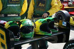 Helmets of Team Australia