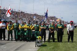 Les membres de l'équipe Team Australia