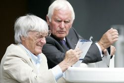 King George VI and Queen Elizabeth Stakes Day, Crystal Palace, Ascot, England: Bernie Ecclestone, Pr