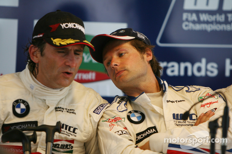 Post-race press conference: Alex Zanardi, Andy Priaulx