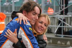 Ganador de la carrera Esteban Gutiérrez, Josef-Kaufmann-Racing