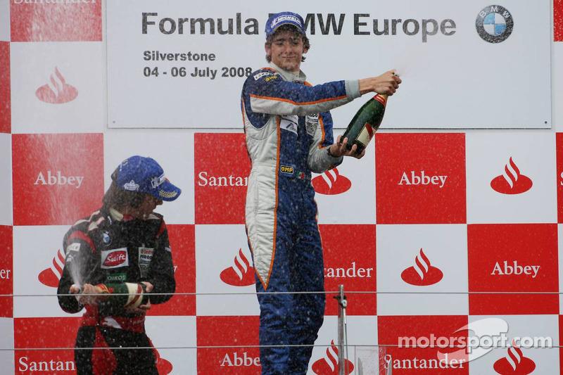 2008 Ganador de la carrera Esteban Gutiérrez, Josef-Kaufmann-Racing Fórmula BMW Europa