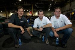 Drivers and media go-kart event: Ron Fellows, ex-race car driver and NAPA Auto Parts 200 spokesperso