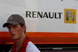 Romain Grosjean, testrijder, Renault F1 Team