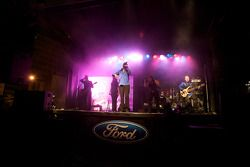 Ford street party on Crescent Street: live entertainment
