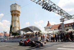 Red Bull demonstration, Lake Balaton, Gerhard Berger, Scuderia Toro Rosso, 50% Team Co Owner