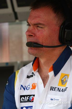 Alan Permaine, Renault F1 Team, Motor