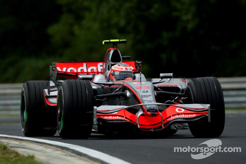 2008: Heikki Kovalainen, McLaren-Mercedes MP4-23