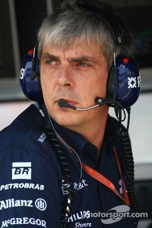 Tim Newton, WilliamsF1 Team, Team Manager