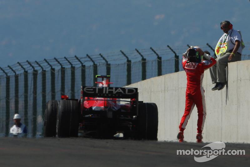 Hungria, 2008: Felipe Massa