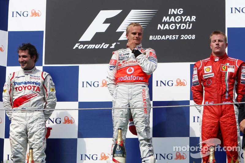 Heikki Kovalainen - Letzter Sieg: GP Ungarn 2008 für McLaren