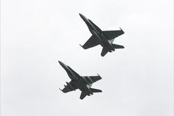 Le survol de CF-18