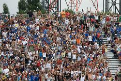 Les fans de Montréal prêts pour la course