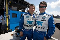 Pole winner Scott Pruett and Memo Rojas