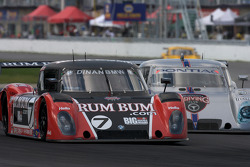 #7 Rum Bum Racing BMW Riley: Matt Plumb, Gene Sigal, #91 Bob Stallings/ Riley-Matthews Pontiac Riley: Marc Goossens, Jim Matthews