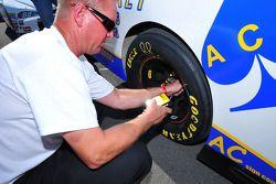 Contrôle de pression des pneus
