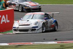 #124 Mühlner Motorsport Porsche 911 GT3 Cup S: Duncan Huisman, Paul Van Splunteren, Ian Khan, Roelan