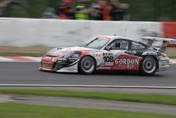#108 Ice Pole Racing Team Porsche 911 GT3 Cup S: Marc Duez, Ludovic Sougnez, Koen Wauters, Olivier Muytjens