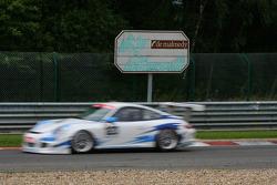 #123 Mühlner Motorsport Porsche 911 GT3 Cup S: Heinz Josef Bermes, Mark Thomas, Marc Basseng, Jean-F