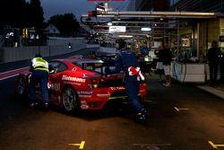 #180 JMB Racing Ferrari F430: Peter Kuteman, Andrea Garbagnati