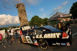 Watkins Glen fan fest: U.S. Army display