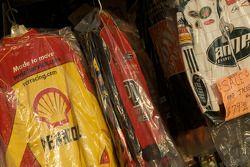 Watkins Glen fan fest: merchandising for sale