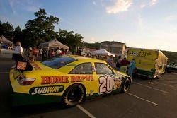 Watkins Glen fan fest: the car of Tony Stewart