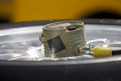 Tire pressure equipment