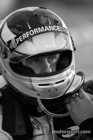 Mark Wilkins gets ready for his stint