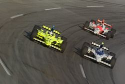 Buddy Rice, Helio Castroneves and Ed Carpenter