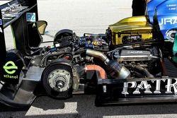 Acura engine compartment
